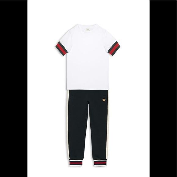 4e821e493 Gucci Shirts & Tops | Striped Armband Baby Tshirt | Poshmark